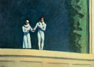 Dos Comediantes (1965) última pintura