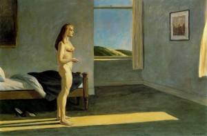 Una mujer al sol, Edward Hopper
